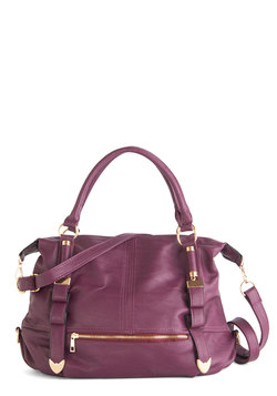 Every Day, Everywhere Bag in Plum