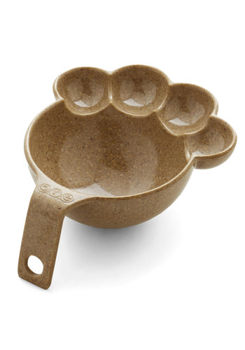 Paws for a Bite Pet Food Scoop - Brown, Solid, Critters, Dog, Under $20
