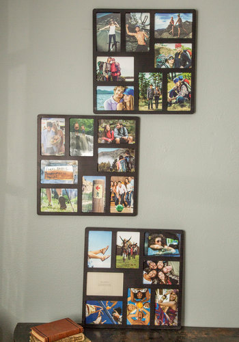Collection of Memories Collage Frame Set - Black, Dorm Decor, Minimal, Better, Solid, Wedding