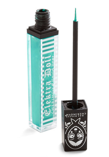 Sleek Streak Liquid Eyeliner in Jade - Green, Solid, Rockabilly, Pinup, Urban, Darling, Statement, Variation, Halloween