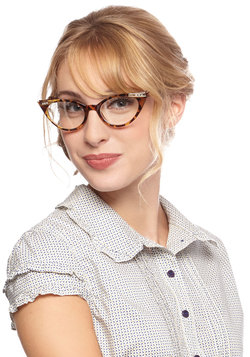 See Eye to Cat-Eye Glasses in Tortoiseshell