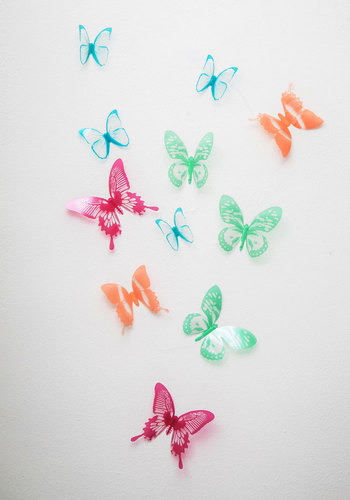 Flutter Free Wall Decor - Multi, Dorm Decor, Good, Critters, Under $20, Gals, Boho, Spring, Summer