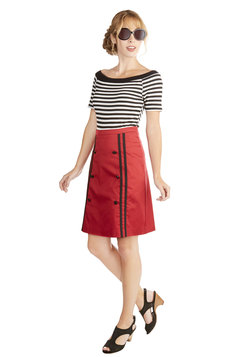 Scholarly Sunday Skirt