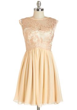 Peaches and Dreamy Dress