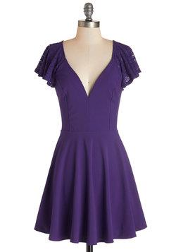 Festive Flutter Dress