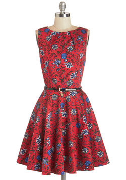 Luck Be a Lady Dress in Blossom