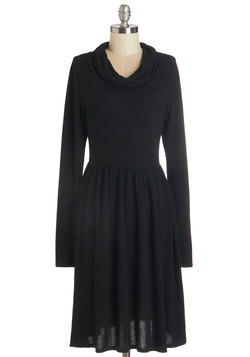 Prose Party Dress in Black