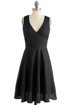 Beguiling Beauty Dress in Black