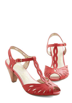 Trip the Light Heel in Red