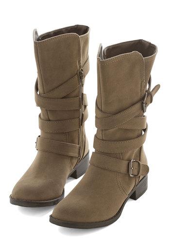 Strappy Strides Boot