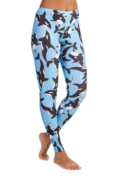 Fresh Take Leggings in Orca