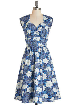 Room for Blooms Dress in Blue
