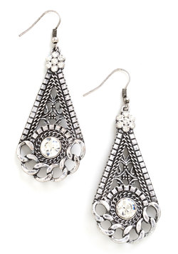Shining Statement Earrings