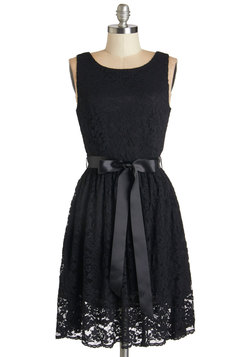Lovely as Lychee Dress in Black
