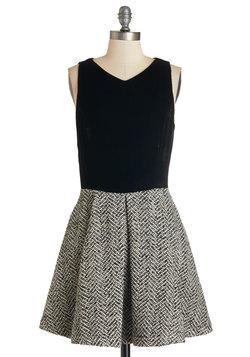 Texture Twist Dress