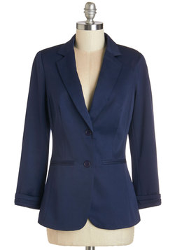 Show Your Skills Blazer in Navy