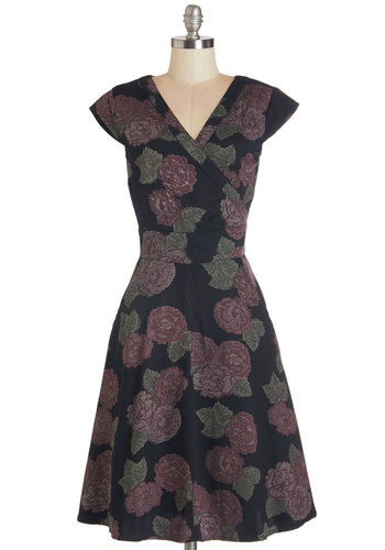 An Enchanted Evening Dress in Floral