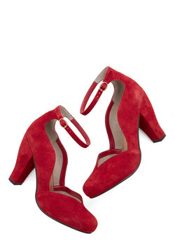 Electrify Heel in Red