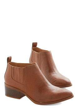 Promise to Be Modest Bootie in Brown