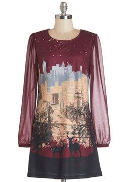 Starry Skyline Dress