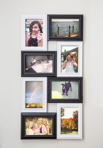 Delightful Display Collage Frame - Multi, Dorm Decor, Better, Black, White, Solid, Minimal