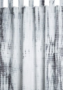 Tranquil Trimmings Curtain