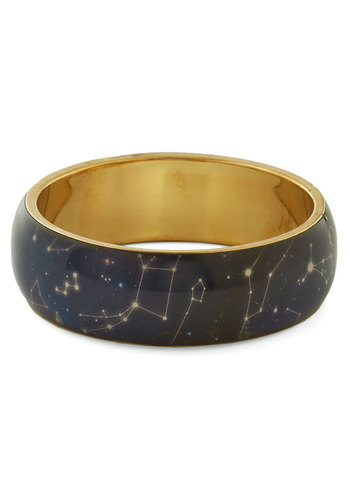 Undeniable Star Quality Bracelet - Blue, Print, Quirky, Scholastic/Collegiate, Nifty Nerd, Cosmic