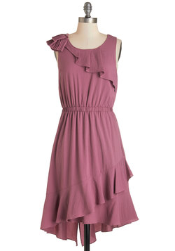 Mauve Along Dress
