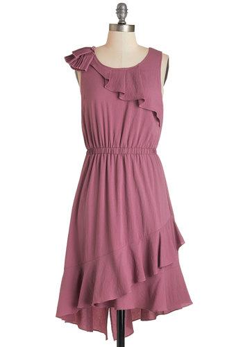 Mauve Along Dress