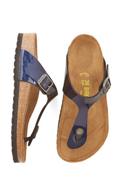 Garden Consultation Sandal in Navy