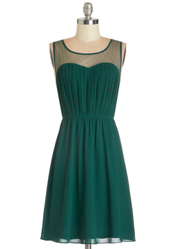 Exquisite on the Equinox Dress in Emerald