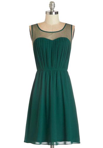 Exquisite on the Equinox Dress in Emerald