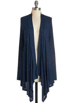 Chapter After Chapter Cardigan in Navy