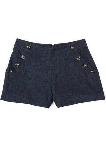 Womens Vintage Retro 1950s Shorts