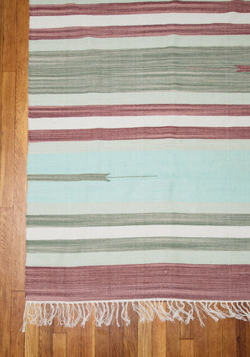 Inspired Environment Rug - 4x6 by Karma Living - Cotton, Woven, Multi, Boho, Best, Fringed, Rustic, Wedding