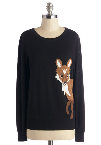 Fox Trot on By Sweater