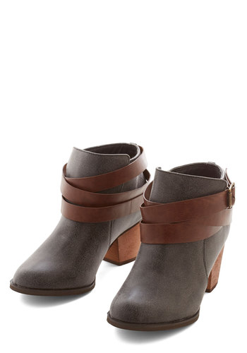 What May Come Bootie - Mid, Better, Buckles, Casual, Fall