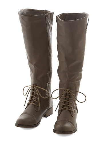 Inclined to Explore Boot in Taupe