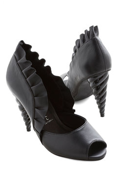 Unicorn Princess Heel in Black