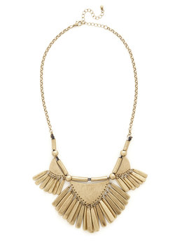 Rule of Thirds Necklace in Gold