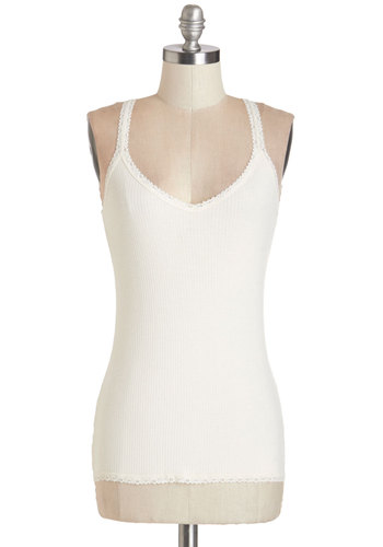 Founded in Fashion Top in Ivory