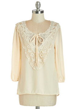 Lifelong Romantic Top in Pearl
