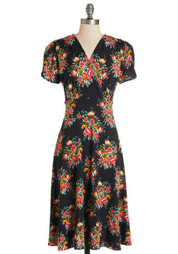 One Floral, All For One Dress in Dusk