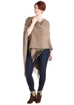 It Was Shawl a Dream Cardigan in Taupe