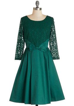 Tough Entre'acte to Follow Dress in Emerald