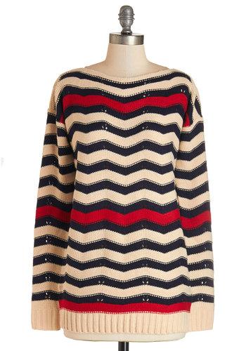 Waving Hello Sweater