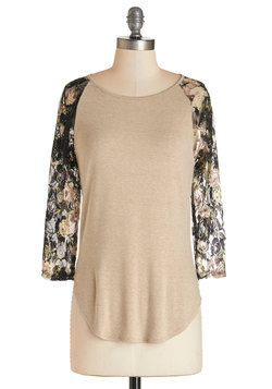 Flowers on Friday Top