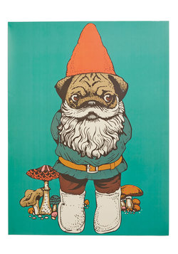 Game of Gnomes Print