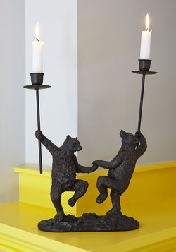 Just Can't Bear It Candle Holder