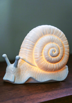 Come Snail Away Lamp